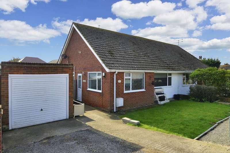 2 Bedrooms Semi Detached Bungalow for sale in Reculver Road, Beltinge, Herne Bay, Kent