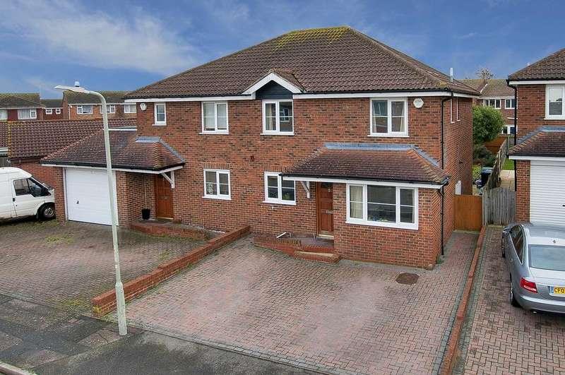 4 Bedrooms Semi Detached House for sale in Blackburn Road, Greenhill, Herne Bay, Kent