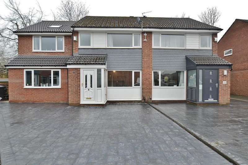 4 Bedrooms Semi Detached House for sale in St Andrews Close, Sale