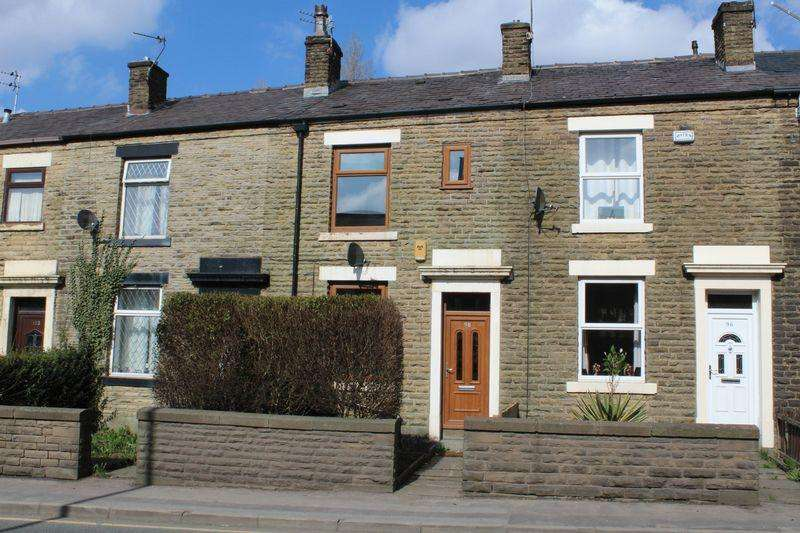 2 Bedrooms Terraced House for sale in Rochdale Road, Milnrow, Rochdale, OL16 3LL