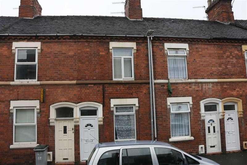 2 Bedrooms Terraced House for sale in Cauldon Road, Shelton, Stoke-on-Trent