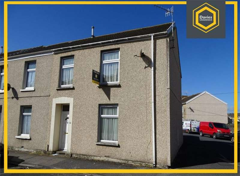 3 Bedrooms End Of Terrace House for sale in 38 Ropewalk Road, Llanelli, SA15