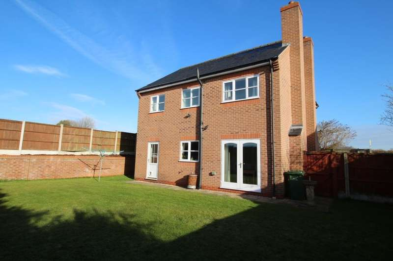 4 Bedrooms Detached House for sale in Lime Acres, Nether Langwith, Mansfield, NG20