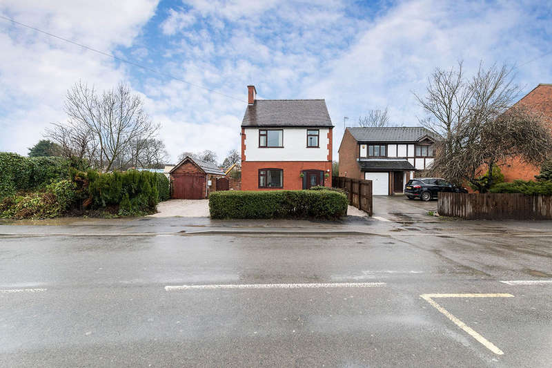 3 Bedrooms Detached House for sale in Chesterfield Road, North Wingfield, Chesterfield, S42