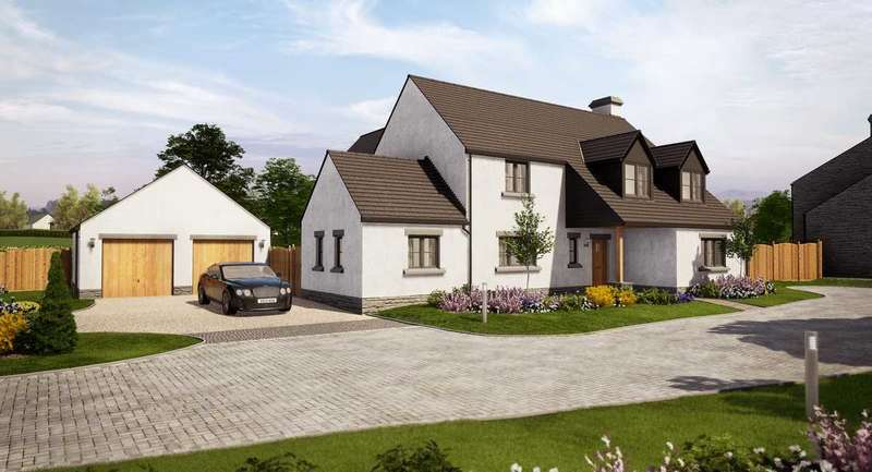 4 Bedrooms Detached House for sale in The Ogmore, Priory Gardens, Abbey Road, EWENNY, The Vale