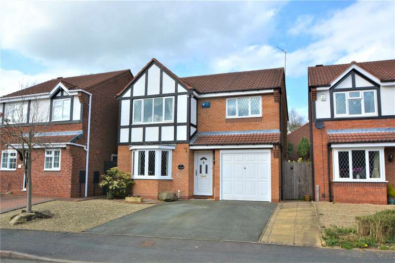 4 Bedrooms Detached House for sale in 40 Bullrush Glade, St. Georges, Telford, TF2