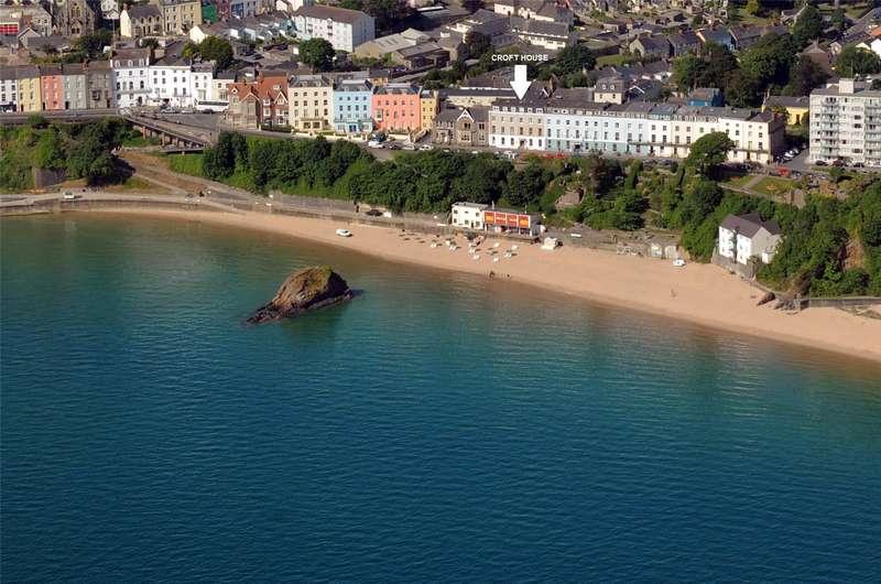 24 Bedrooms Flat for sale in Croft House, The Croft, Tenby, Pembrokeshire