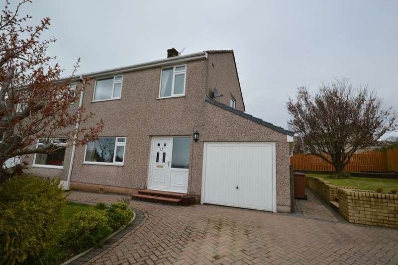 3 Bedrooms Semi Detached House for sale in Highfields Court, Whitehaven, CA28