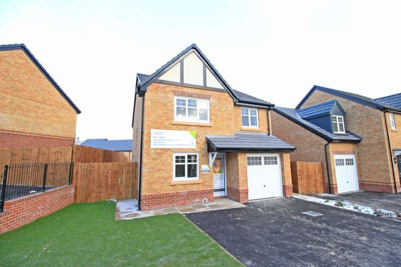 4 Bedrooms Detached House for sale in Gibfield Park Avenue, Atherton, Manchester, M46