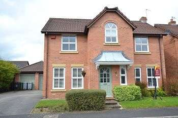 4 Bedrooms Detached House for sale in Glenside Drive, Wilmslow, Cheshire SK9 1EH