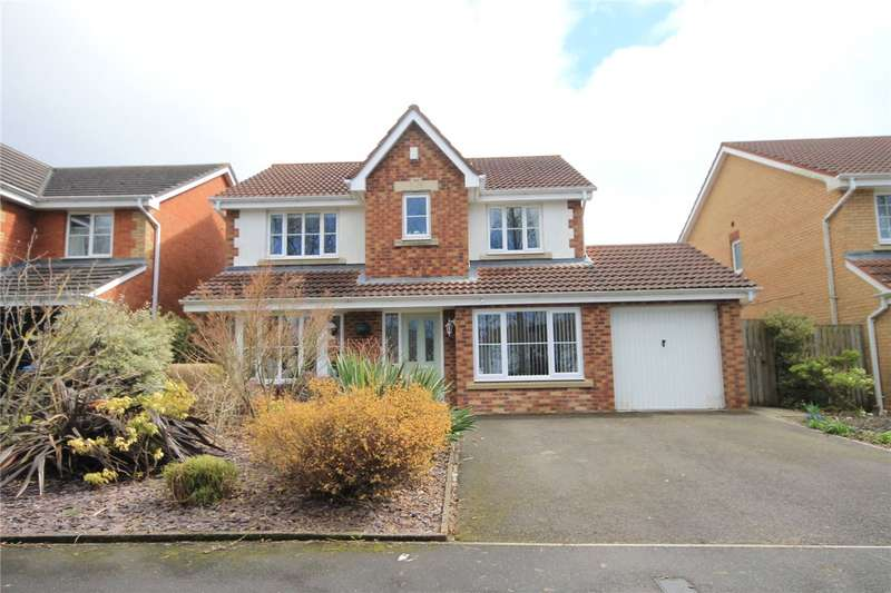 5 Bedrooms Detached House for sale in Eggleston Drive, Consett, County Durham, DH8