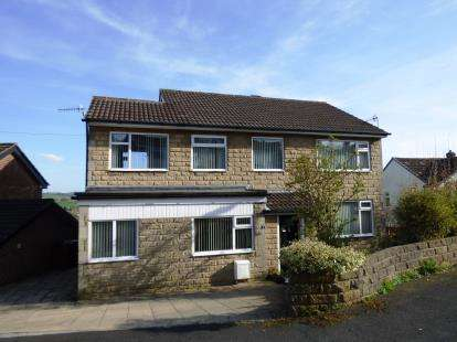 4 Bedrooms Detached House for sale in Scaliot Close, New Mills, High Peak, Derbyshire