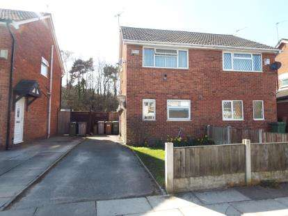 2 Bedrooms Semi Detached House for sale in Brookhurst Avenue, Wirral, Merseyside, CH62