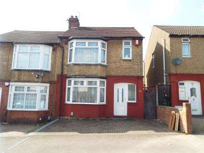 2 Bedrooms Semi Detached House for sale in Beverley Road, Luton, Bedfordshire
