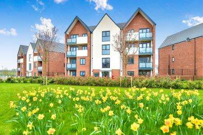 2 Bedrooms Flat for sale in Cicero Crescent, Fairfields, Milton Keynes, Bucks