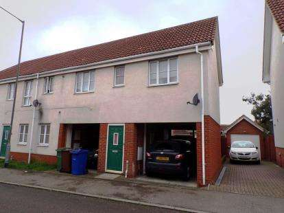 2 Bedrooms Maisonette Flat for sale in Chafford Hundred, Grays, Essex