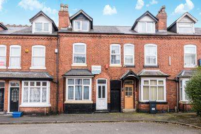 3 Bedrooms Terraced House for sale in Leslie Road, Edgbaston, Birmingham, West Midlands