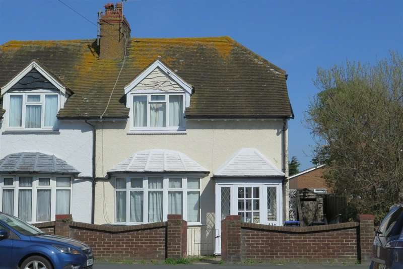 3 Bedrooms Semi Detached House for sale in Brighton Road, Lancing
