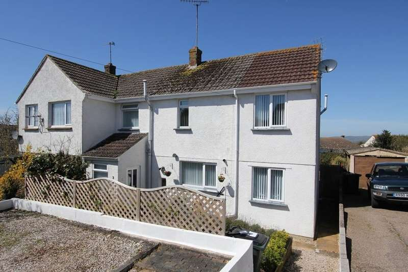 3 Bedrooms Semi Detached House for sale in Sunny Close, Newton Abbot
