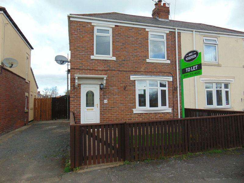 2 Bedrooms Semi Detached House for rent in Glebe Crescent, Forest Hall, Newcastle Upon Tyne
