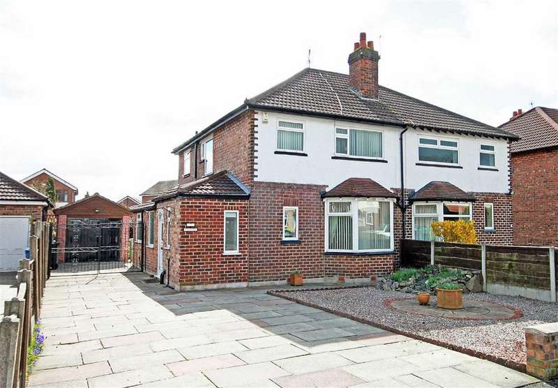 3 Bedrooms Semi Detached House for sale in Greenway Road, Timperley, Cheshire