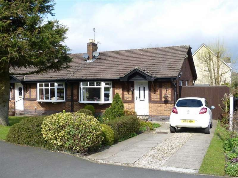 2 Bedrooms Semi Detached Bungalow for sale in Leicester Drive, Glossop