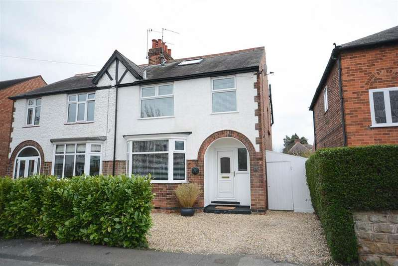 4 Bedrooms Semi Detached House for sale in Willoughby Road, West Bridgford, Nottingham