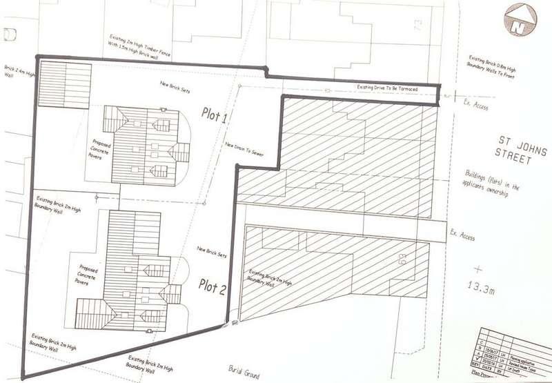 Residential Development Commercial for sale in Rear 63-69 St John Street, Bridlington