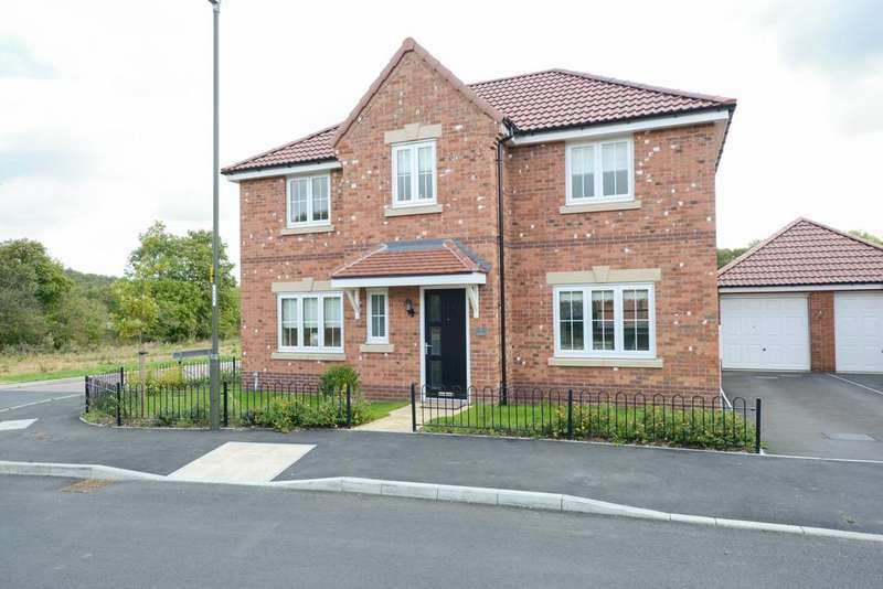 4 Bedrooms Detached House for sale in Spindle Drive, Wingerworth