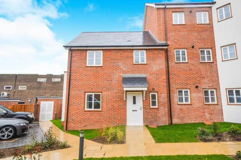 2 Bedrooms End Of Terrace House for sale in The Courtyard, Witham, CM8 2FW