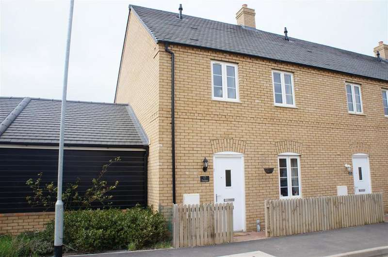 3 Bedrooms End Of Terrace House for sale in Thillans, Cranfield, Bedford