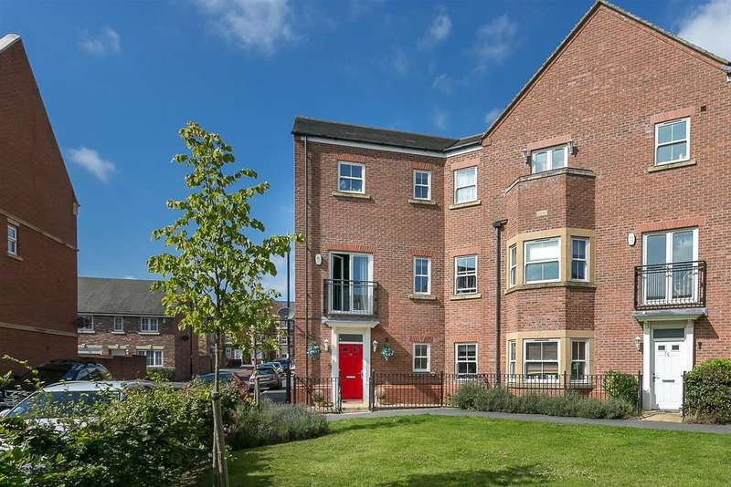 5 Bedrooms End Of Terrace House for sale in Featherstone Grove, Great Park, Newcastle upon Tyne