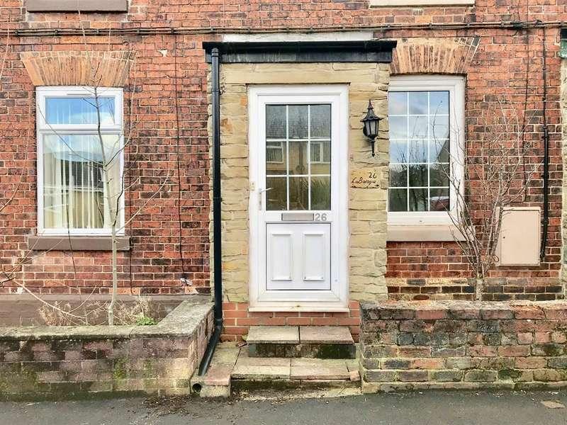2 Bedrooms Terraced House for sale in Stanley Road, Chapeltown, Sheffield, S35 2XD