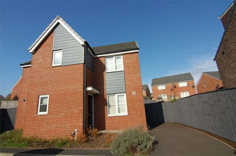 3 Bedrooms Detached House for sale in Larch Place, BARNSLEY, South Yorkshire