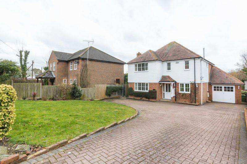 4 Bedrooms Detached House for sale in Eythorne Road, Shepherdswell