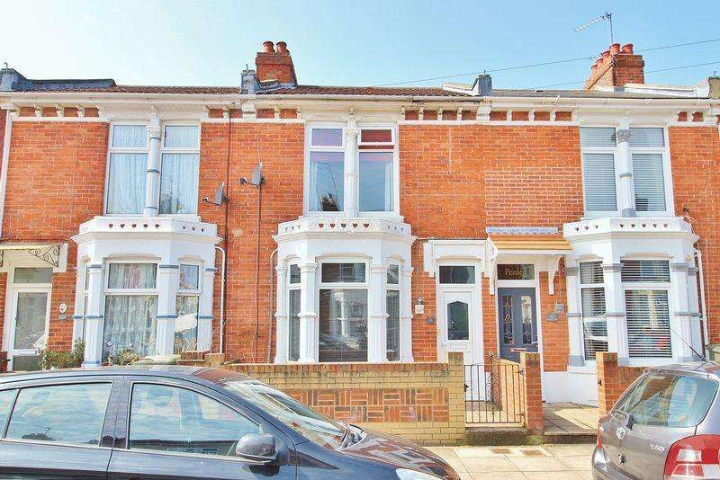 3 Bedrooms Terraced House for sale in Catisfield Road, Milton