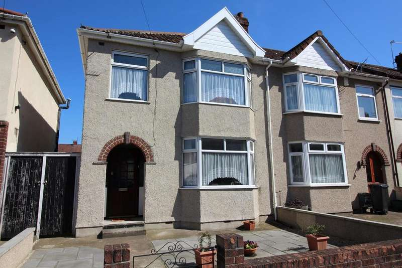 3 Bedrooms End Of Terrace House for sale in Lewington Road, Fishponds, Bristol, BS16 4AA