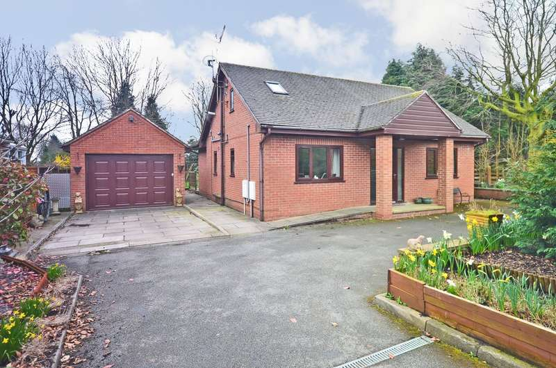 4 Bedrooms Detached Bungalow for sale in Sandon Road, Cresswell, ST11 9RB