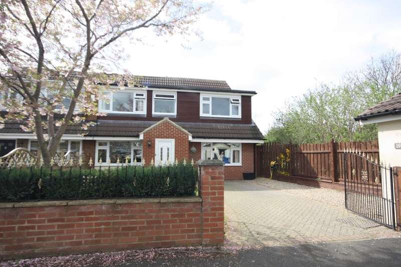 4 Bedrooms Semi Detached House for sale in Scarteen Close, Guisborough, TS14