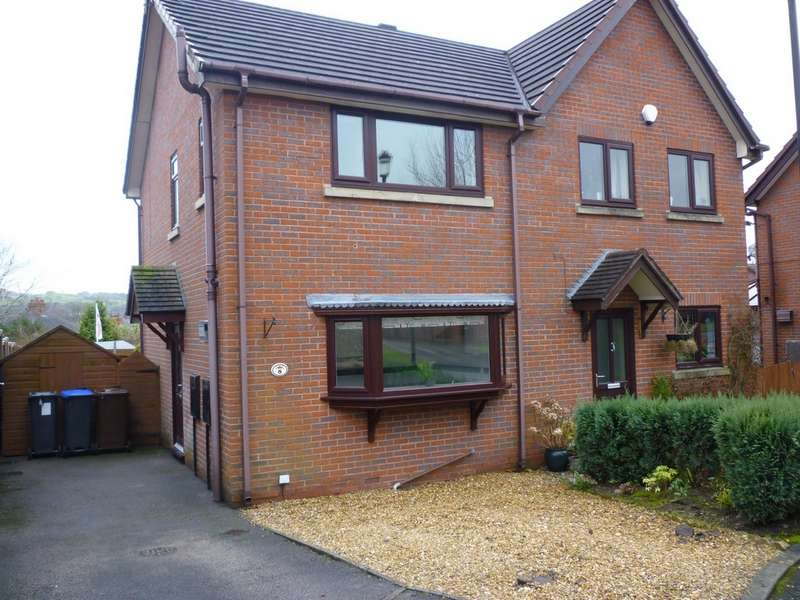 2 Bedrooms Semi Detached House for sale in Cambridge Close, Gillow Heath, Stoke On Trent ST8