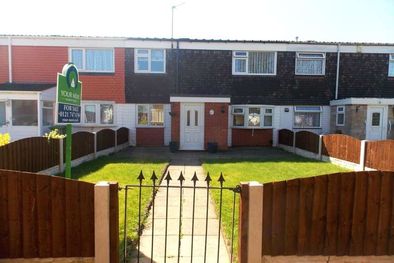 3 Bedrooms Property for sale in Maytree Close, Chelmsley Wood, Birmingham, B37