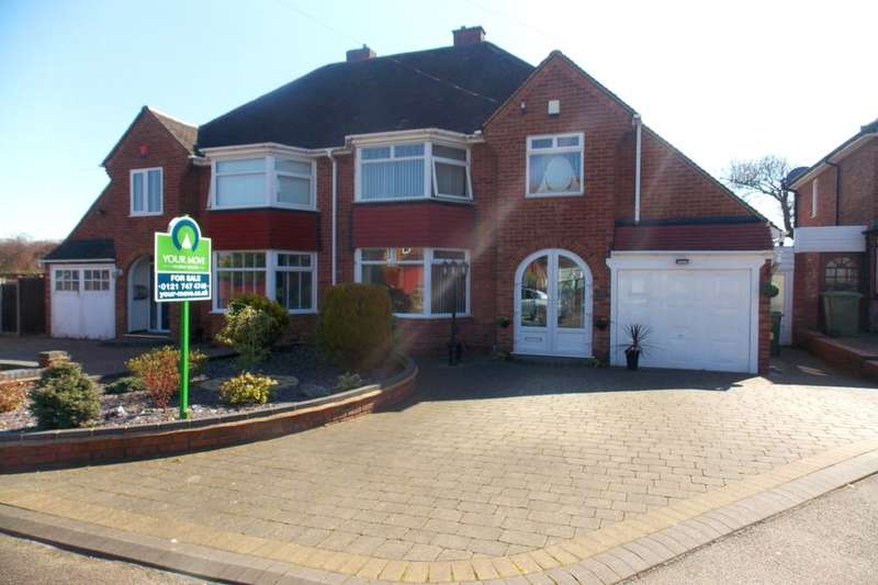 3 Bedrooms Semi Detached House for sale in Balmoral Road, Castle Bromwich, Birmingham, B36