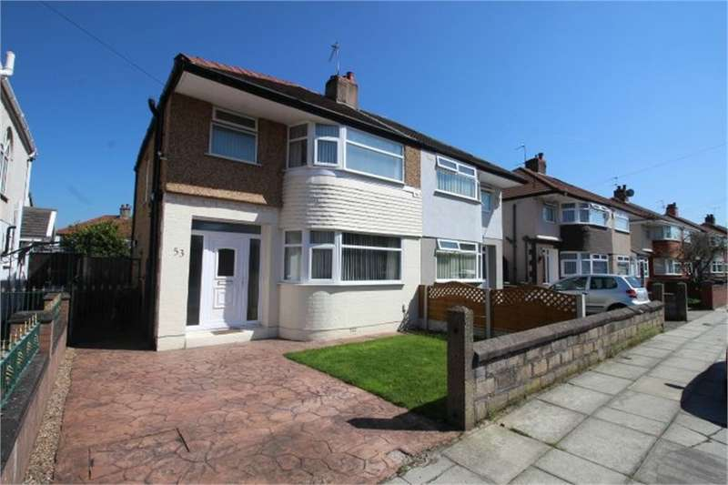 3 Bedrooms Semi Detached House for sale in Mostyn Avenue, Old Roan, LIVERPOOL, Merseyside