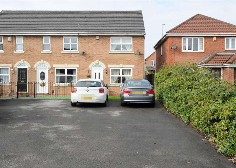 2 Bedrooms End Of Terrace House for sale in 12 Churning Terrace, Irlam M44 6TH