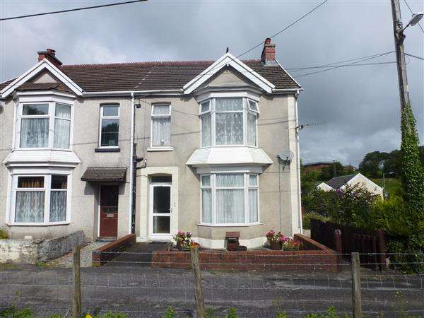 3 Bedrooms Semi Detached House for sale in Min-Yr-Afon, TUMBLE, Llanelli