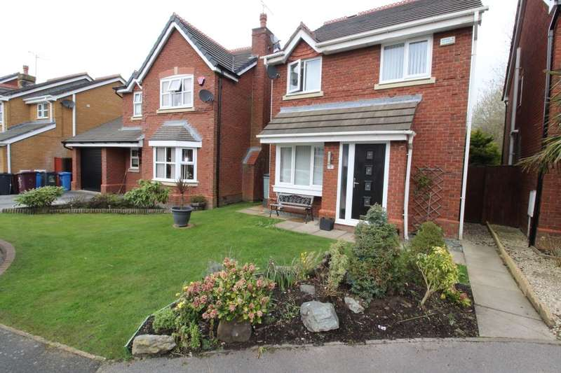 3 Bedrooms Detached House for sale in Beech Meadows, Prescot, L34