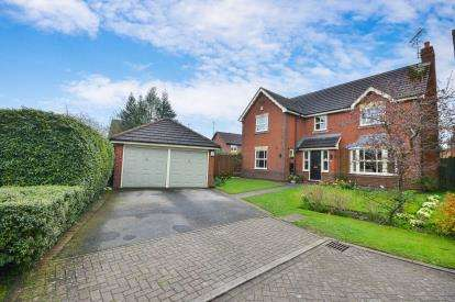 4 Bedrooms Detached House for sale in Oakleaf Crescent, Sutton-In-Ashfield, Nottinghamshire, Notts