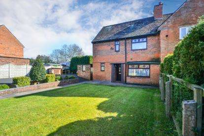 3 Bedrooms Semi Detached House for sale in Oakland Avenue, Huthwaite, Nottinghamshire, Notts