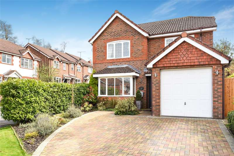 4 Bedrooms Detached House for sale in Plantagenet Park, Warfield, Berkshire, RG42