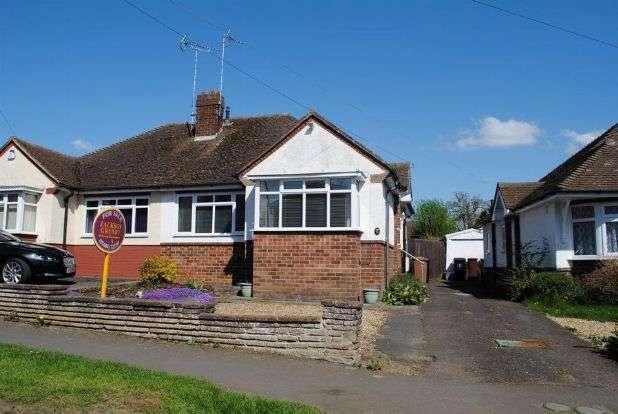 2 Bedrooms Semi Detached Bungalow for sale in Greenhills Road, Kingsthorpe, Northampton NN2 8EF